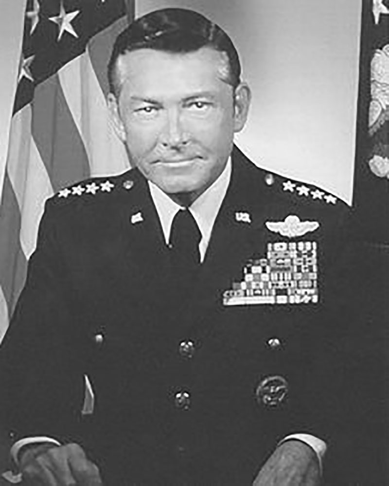 "Photo of Gen. Wilbur L. ""Bill"" Creech"
