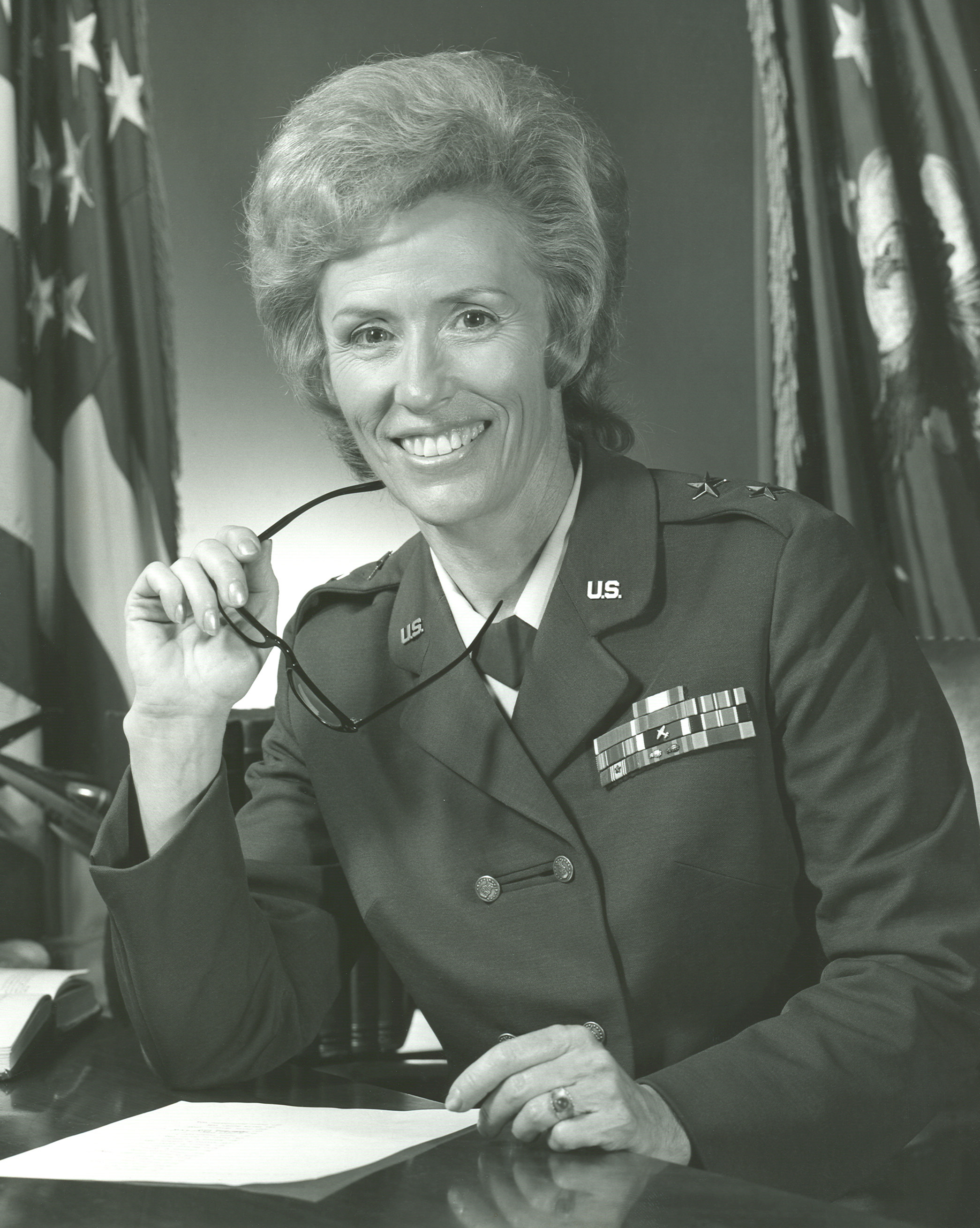Photo of Maj. Gen. Jeanne M. Holm