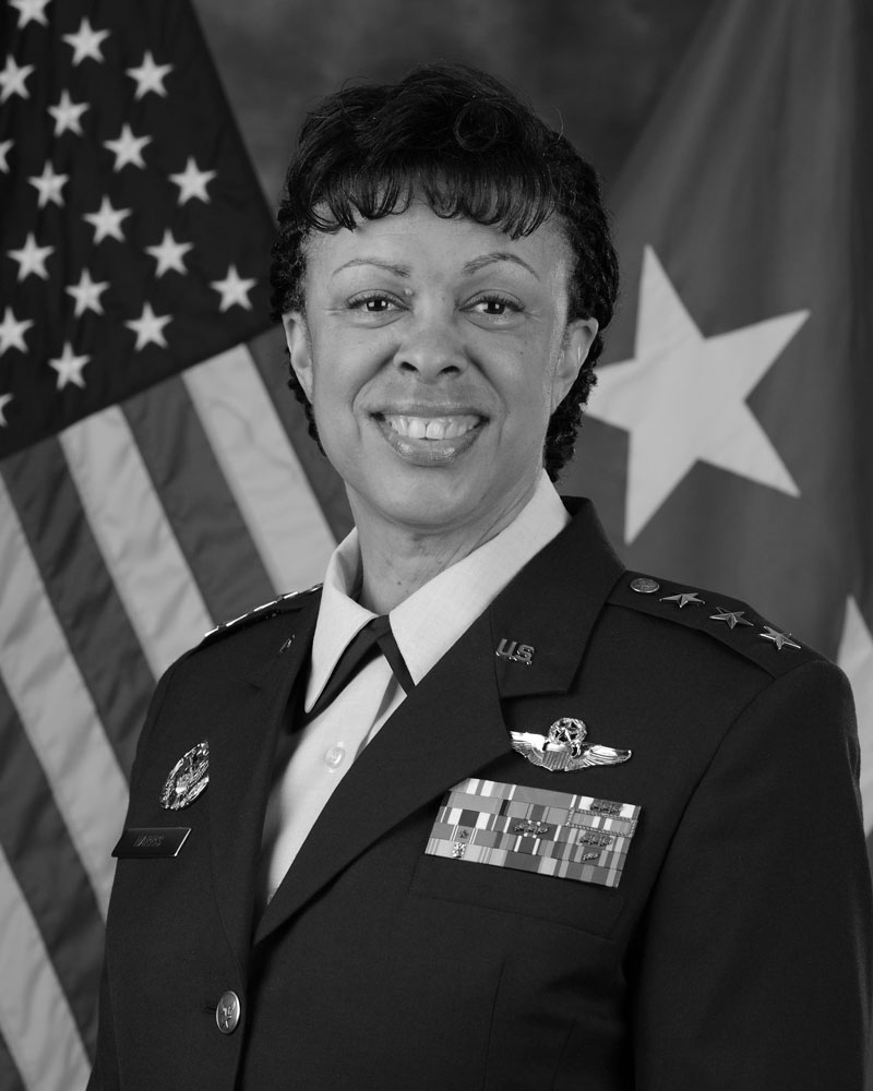Photo of Lt Gen Stayce Harris