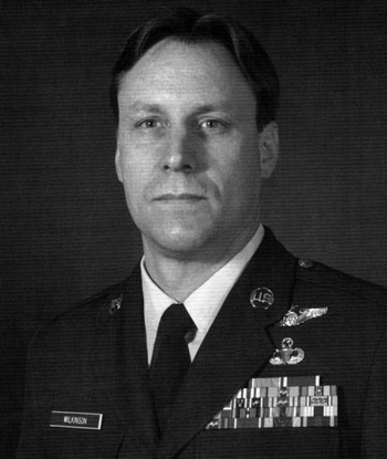 Photo of MSgt Timothy A. Wilkinson