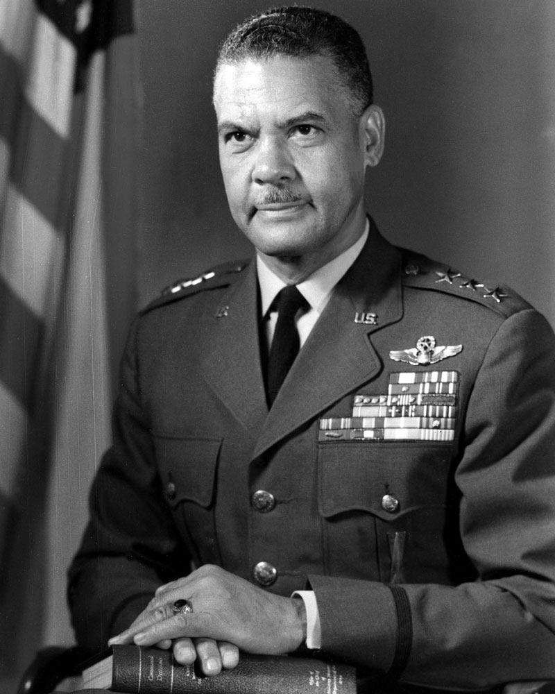 Photo of General Benjamin Oliver Davis, Jr.