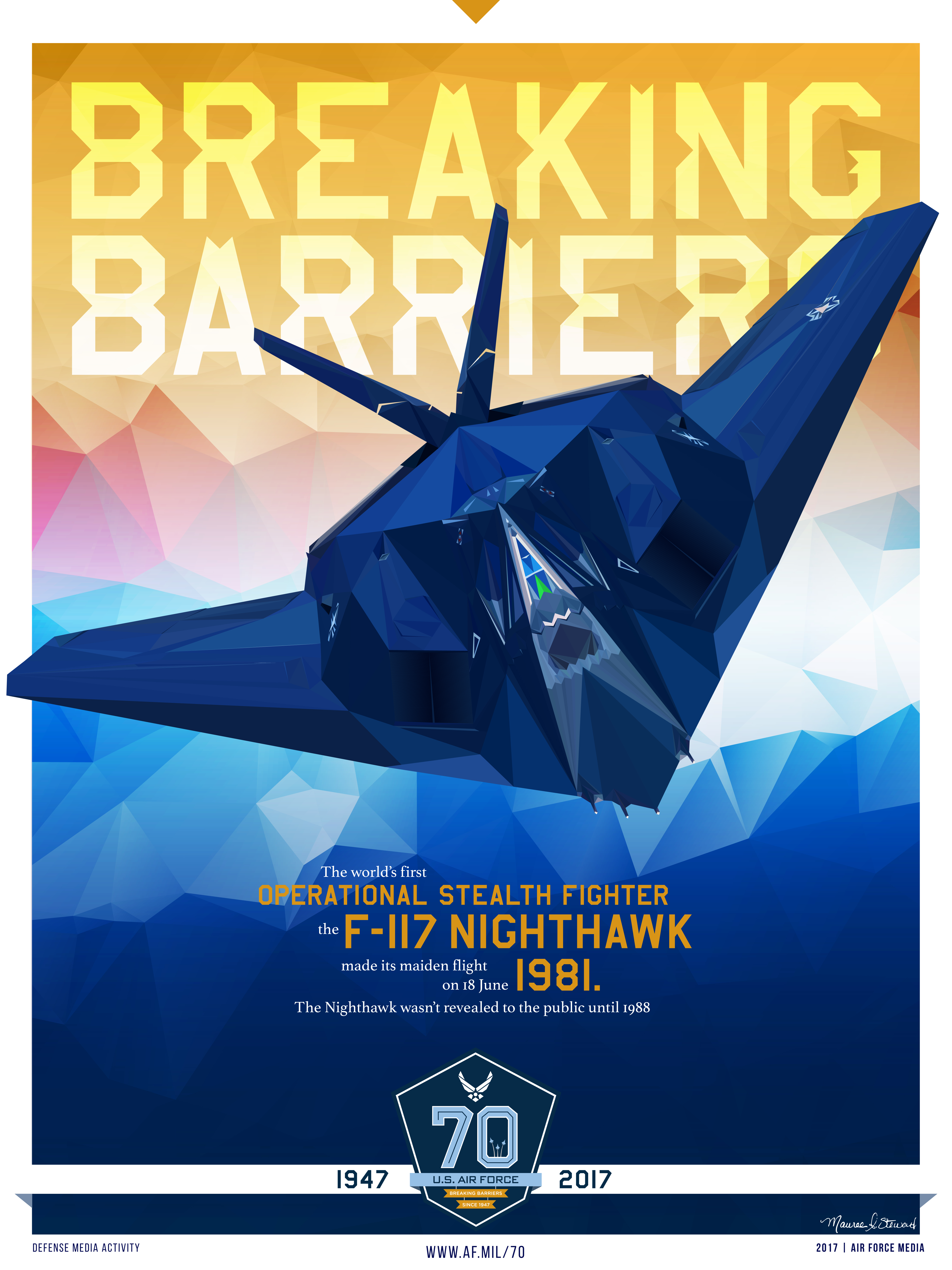 70 air force birthday