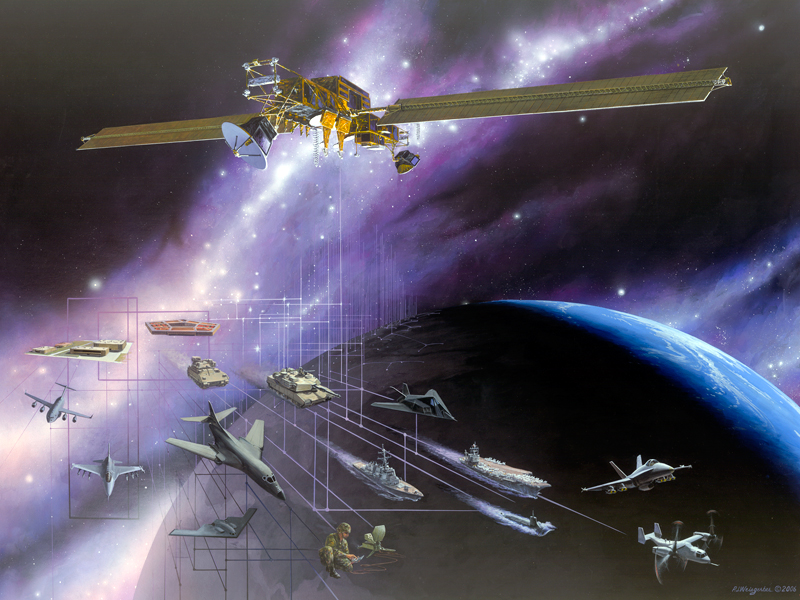 milstar satellite and military users